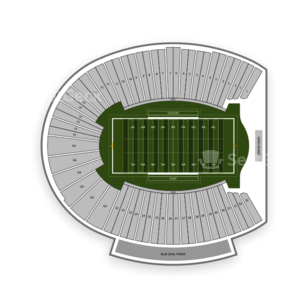 Duke Blue Devils Football Seating Chart