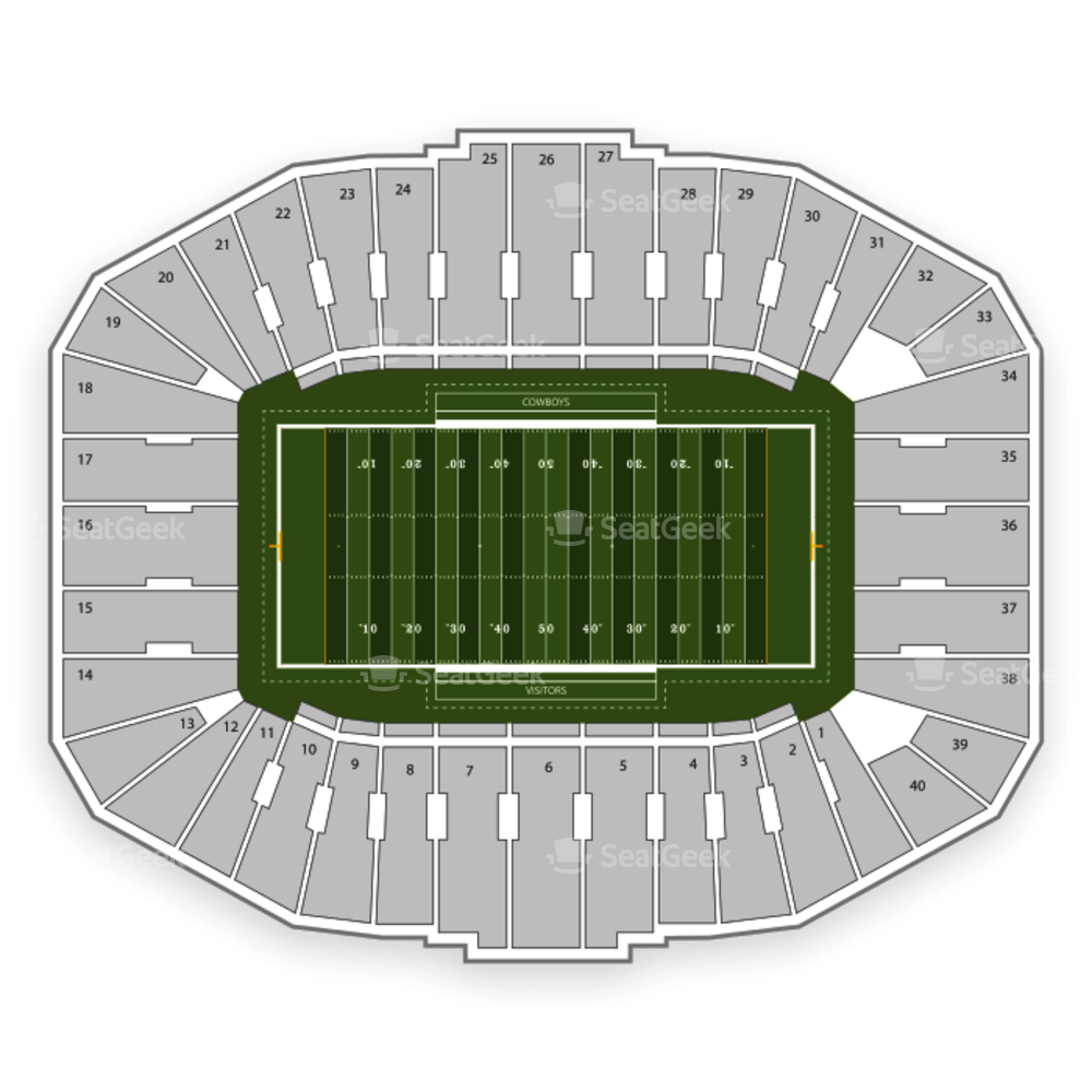 Wyoming Cowboys Football Seating Chart