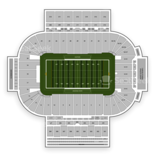 Arizona State Sun Devils Football Seating Chart
