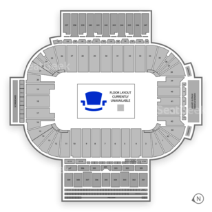 Sun Devil Stadium Seating Chart Concert