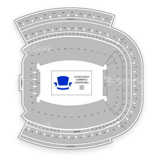 Sanford Stadium Seating Chart Concert