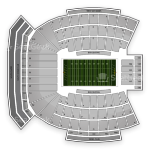Ole Miss Rebels Football Seating Chart