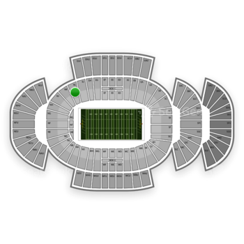Penn State Nittany Lions Football at Beaver Stadium Nl View