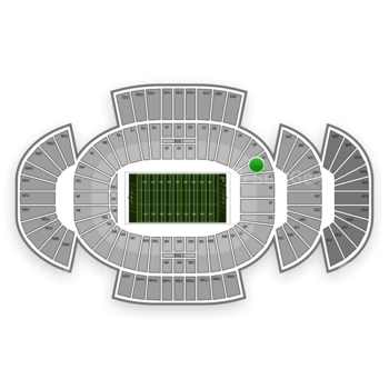 Penn State Nittany Lions Football at Beaver Stadium Sc View