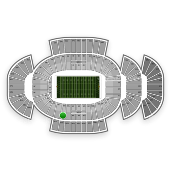 Penn State Nittany Lions Football at Beaver Stadium Wh View