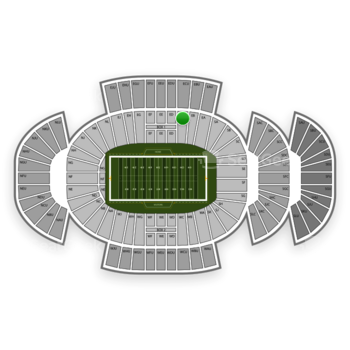 Penn State Nittany Lions Football at Beaver Stadium Ec View