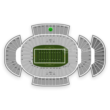 Penn State Nittany Lions Football at Beaver Stadium Eeu View