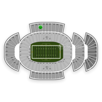 Penn State Nittany Lions Football at Beaver Stadium Egu View