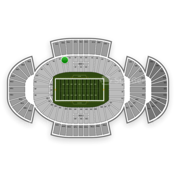 Penn State Nittany Lions Football at Beaver Stadium Eh View
