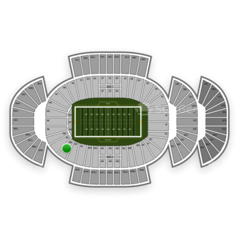 Penn State Nittany Lions Football at Beaver Stadium Nb View