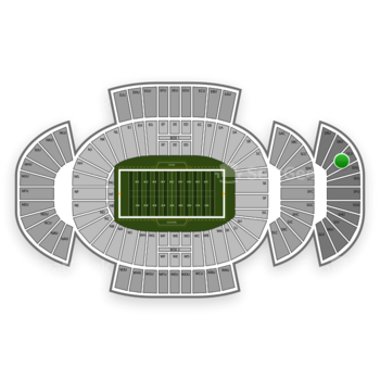 Penn State Nittany Lions Football at Beaver Stadium Scu View