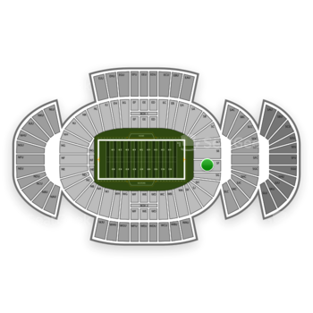 Penn State Nittany Lions Football at Beaver Stadium Sf View