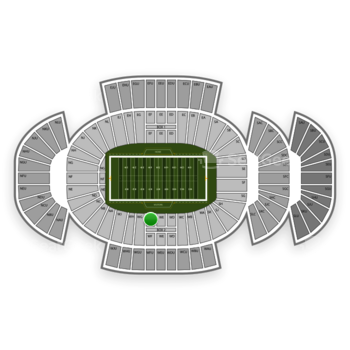 Penn State Nittany Lions Football at Beaver Stadium Wf View
