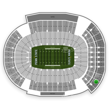 Penn State Nittany Lions Football at Beaver Stadium Sku View