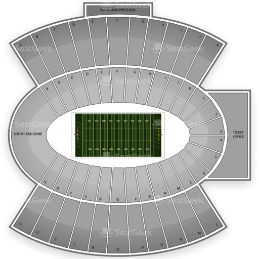 Floyd Casey Stadium Seating Chart