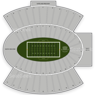 Baylor Bears Football Seating Chart