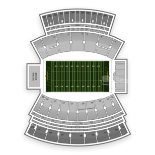 Mississippi State Bulldogs Football Seating Chart