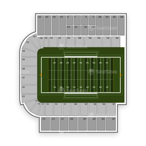 Troy Trojans Football Seating Chart