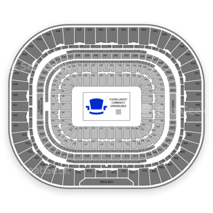 The Dome at America's Center Seating Chart Family