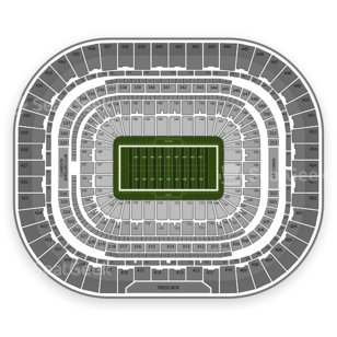 St. Louis Rams Seating Chart