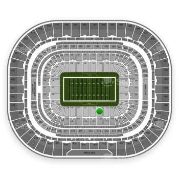 Los Angeles Rams at Edward Jones Dome Section 112 View