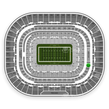 Los Angeles Rams at Edward Jones Dome Section 303 View