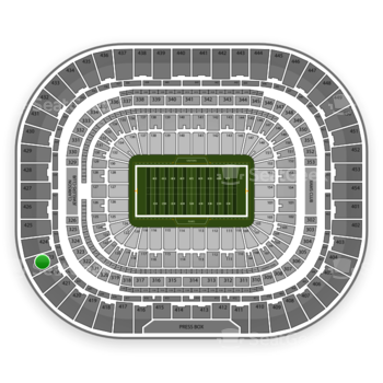 The Dome at America's Center Section 423 Seat Views | SeatGeek