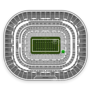 St. Louis Rams at Edward Jones Dome Section 103 View