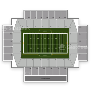 Boston College Eagles Football Seating Chart