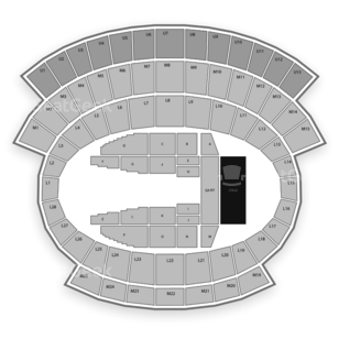 Falcon Stadium Seating Chart Concert