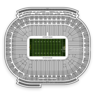 Michigan Wolverines Football Seating Chart