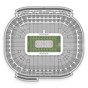 Michigan Stadium Seating Chart NHL