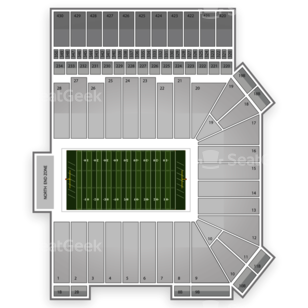 Kansas State Wildcats Football Seating Chart