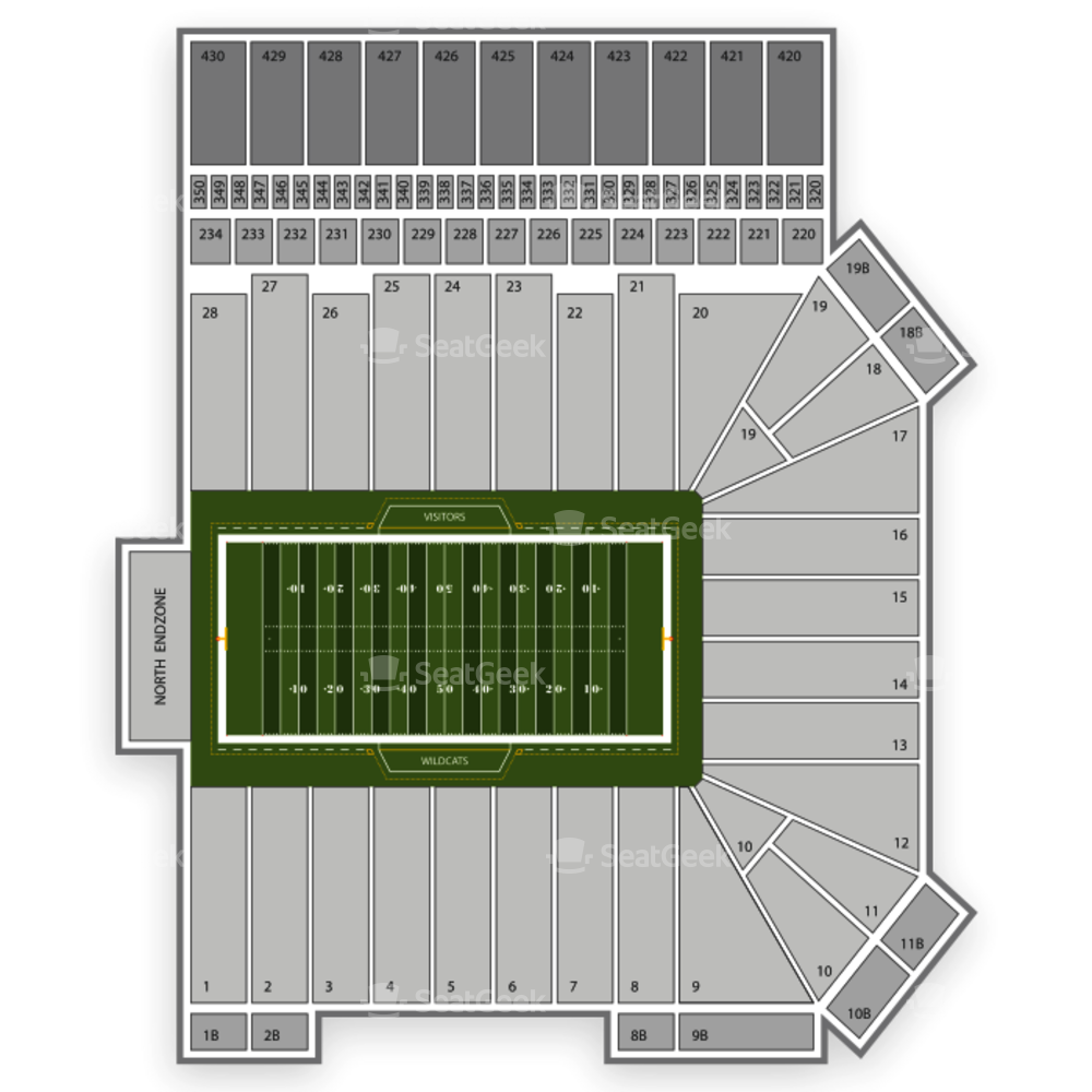 Bill Snyder Family Stadium Seating Chart NFL