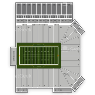 Bill Snyder Family Stadium Seating Chart Sports