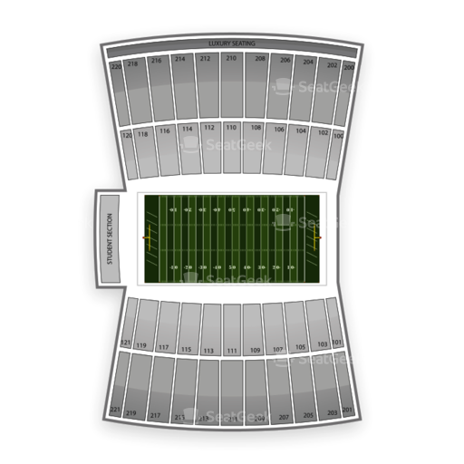 InfoCision Stadium Seating Chart