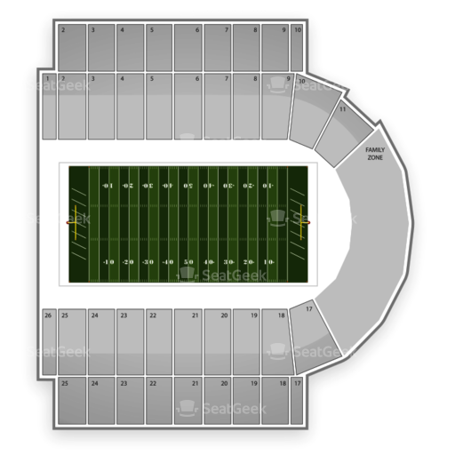 Kivisto Field at Memorial Stadium Seating Chart