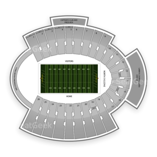 UTEP Miners Football Seating Chart