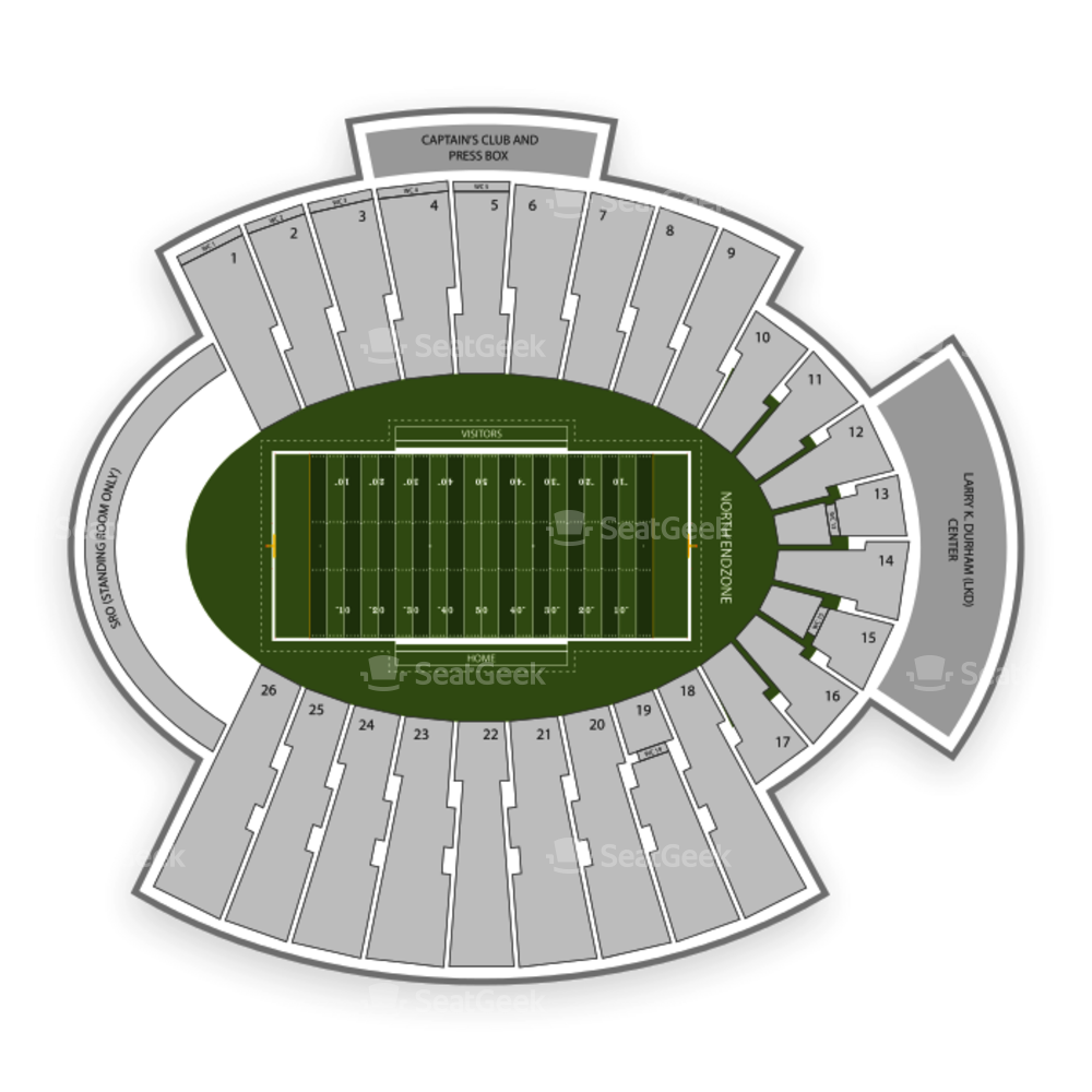 Sun Bowl Stadium Seating Chart NCAA Football