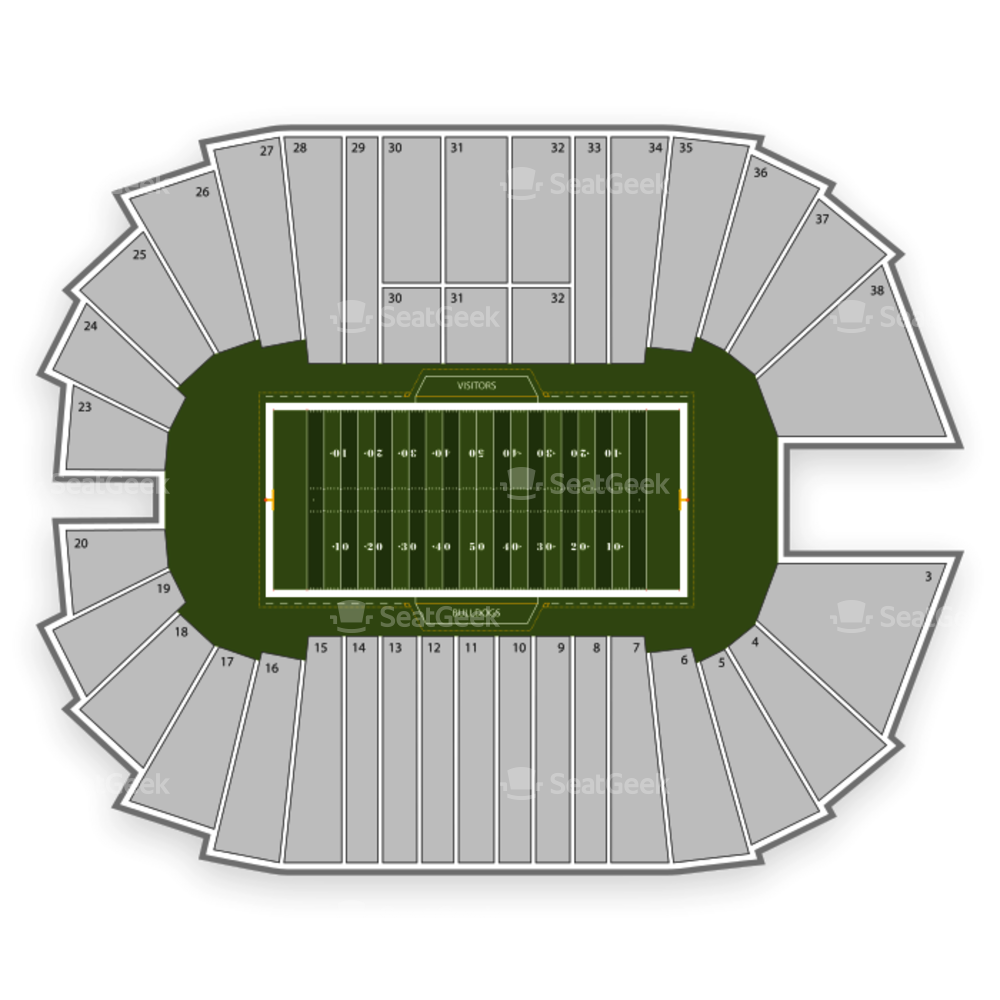 Fresno State Bulldogs Football Seating Chart