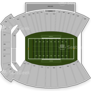 Marshall Thundering Herd Football Seating Chart