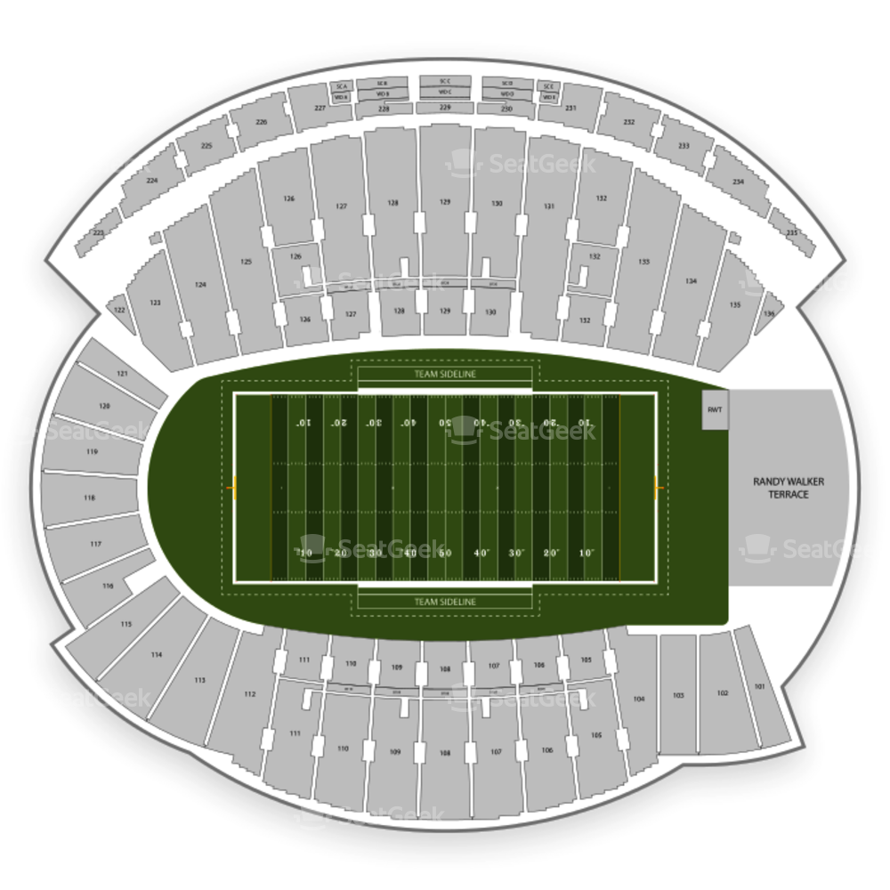 Northwestern Wildcats Football Seating Chart