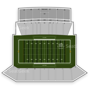 Louisiana Ragin Cajuns Football Seating Chart