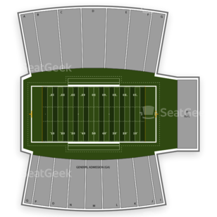 Huskie Stadium Seating Chart Concert