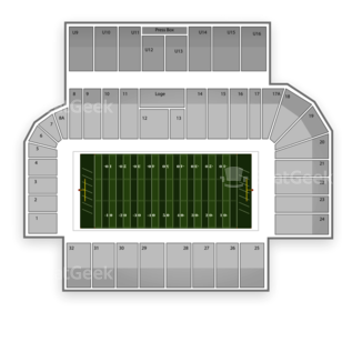 Army Black Knights Football Seating Chart