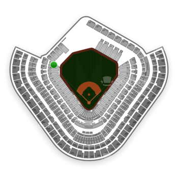 Los Angeles Angels at Angel Stadium Section 101 View