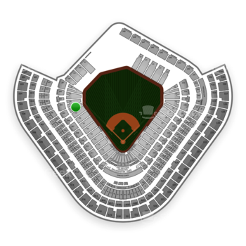 Los Angeles Angels at Angel Stadium Section 104 View