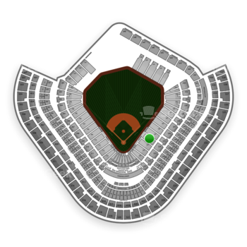 Los Angeles Angels at Angel Stadium Section 126 View