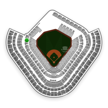 Los Angeles Angels at Angel Stadium Section 202 View