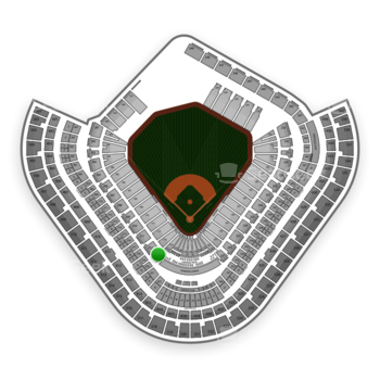 Los Angeles Angels at Angel Stadium Section 213 View